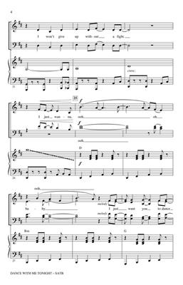 Claude Kelly: Dance with Me Tonight: Arr. (Roger Emerson): SATB