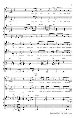 Charlie Smalls: Ease on Down the Road: Arr. (Mac Huff): 2-Part Choir