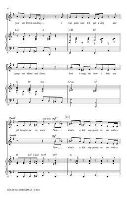 Alan Billingsley: Goldfish Christmas: 2-Part Choir
