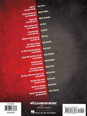 Jazz Piano Masters Play Rodgers & Hammerstein: Piano