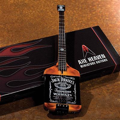 Axe Heaven: Jack Daniels Electric Bass Model