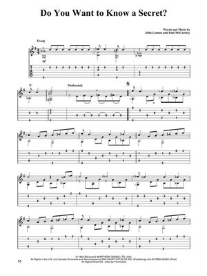 The Beatles: For Easy Classical Guitar: Arr. (Mark Phillips): Guitar TAB