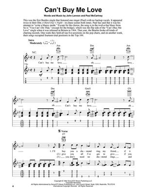 The Beatles: The Beatles for Fingerstyle Ukulele: Arr. (Fred Sokolow): Ukulele