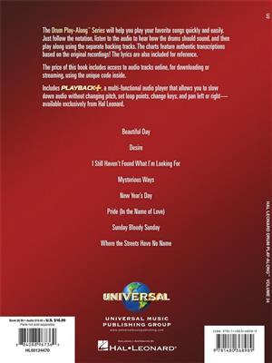 U2: U2: Drums and Percussion