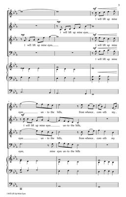 Philip W. J. Stopford: I Will Lift Up Mine Eyes: SATB