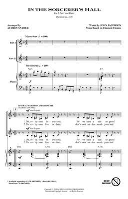 Audrey Snyder: In the Sorcerer's Hall: 2-Part Choir