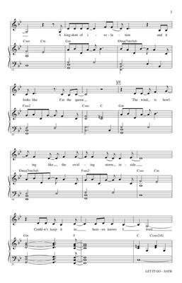 Let It Go (from Frozen): Arr. (Mac Huff): SATB