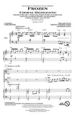 Frozen: Arr. (Mark Brymer): SATB