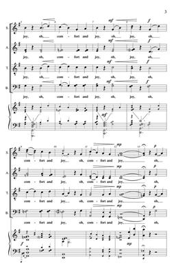 Comfort and Joy: Arr. (Allan Robert Petker): SATB