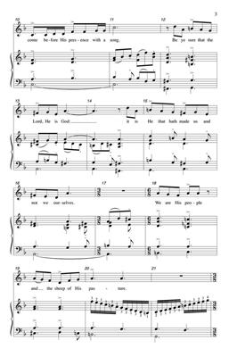 William E. Krape: Jubilate Deo: Arr. (Stephen Roddy): 2-Part Choir