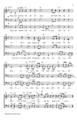 John Stafford Smith: The Star-Spangled Banner: Arr. (Tim Sharp): TTBB