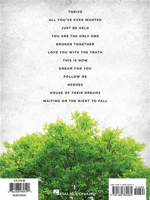 Casting Crowns: Casting Crowns - Thrive: Piano, Vocal, Guitar