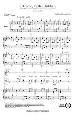 Hal Leonard: O Come, Little Children