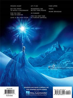 Kristen Anderson-Lopez: Frozen: Music from the Motion Picture Soundtrack: Piano or Keyboard
