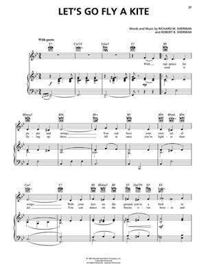 Richard M. Sherman: Saving Mr.Banks: Piano, Vocal and Guitar (songbooks)