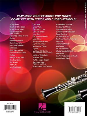 Easy Pop Melodies - for Clarinet: Clarinet