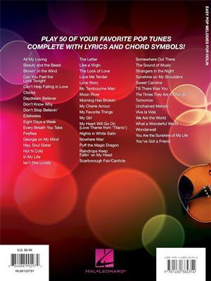 Easy Pop Melodies - for Violin: Violin