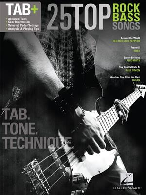 25 Top Rock Bass Songs: Double Bass