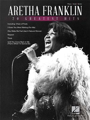 Aretha Franklin: Aretha Franklin - 20 Greatest Hits: Piano, Vocal, Guitar
