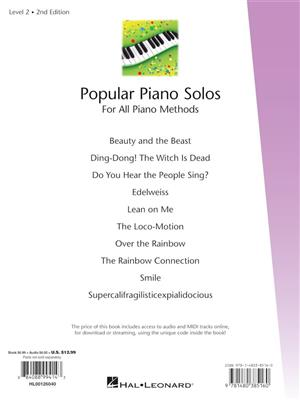 Fred Kern: Popular Piano Solos 2nd Edition - Level 2: Piano or Keyboard