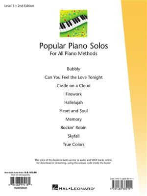 Popular Piano Solos 2nd Edition -Level 3: Arr. (Fred Kern): Piano