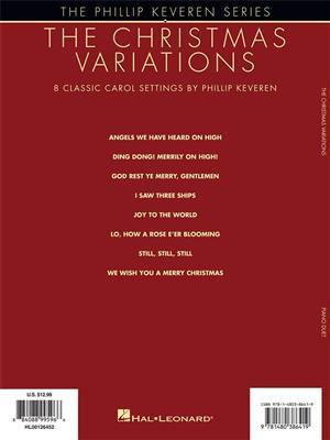 The Christmas Variations: Arr. (Phillip Keveren): Piano Duet