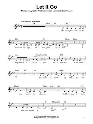 Kristen Anderson-Lopez: Frozen: Melody, Lyrics & Chords