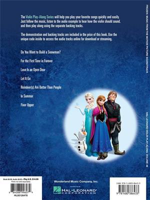 Kristen Anderson-Lopez: Frozen: Violin
