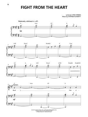 Stephen Flaherty: ROCKY Broadway: Vocal