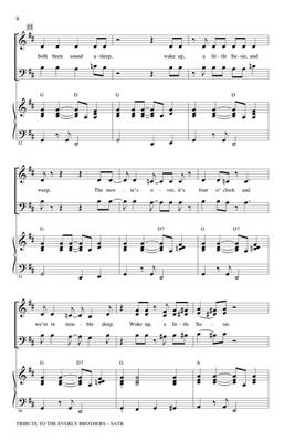 Boudleaux Bryant: Tribute to the Everly Brothers: Arr. (Alan Billingsley): SATB