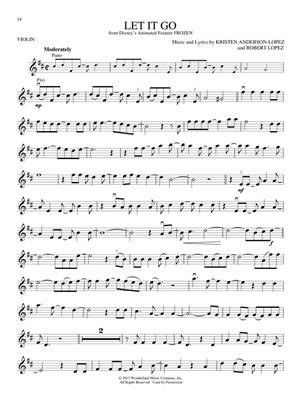 Songs From Frozen, Tangled & Enchanted - Violin: Violin