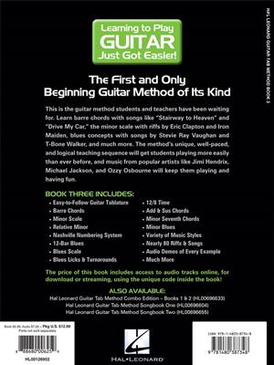 Hal Leonard guitar TAB method book 3: Guitar or Lute