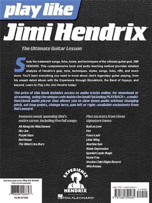 Andy Aledort: Play like Jimi Hendrix: Guitar TAB