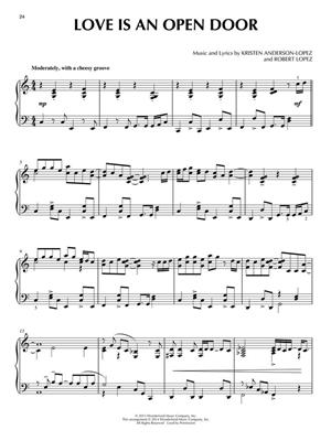 Kristen Anderson-Lopez: Frozen - Piano Solo: Piano or Keyboard
