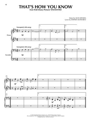 Contemporary Disney Duets: Piano or Keyboard
