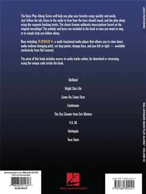 Jaco Pastorius: Bass Play-Along Volume 50: Jaco Pastorius: Bass Guitar