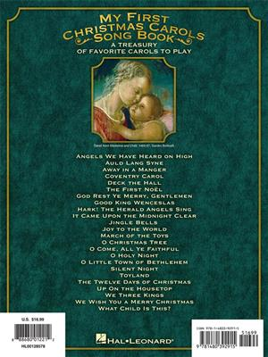 My First Christmas Carols Songbook: Easy Piano