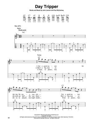 The Beatles: 22 Classics Arranged For 5-String Banjo: Banjo