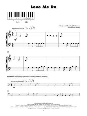 The Beatles: The Beatles Hits: Piano
