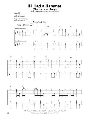 Pete Seeger: Pete Seeger: Arr. (Michael Miles): Banjo