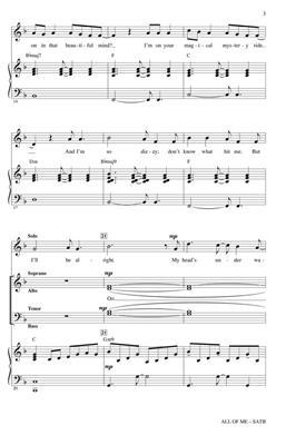 John Legend: All of Me: Mixed Choir