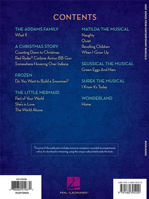 Kids' Songs from Contemporary Musicals: Vocal