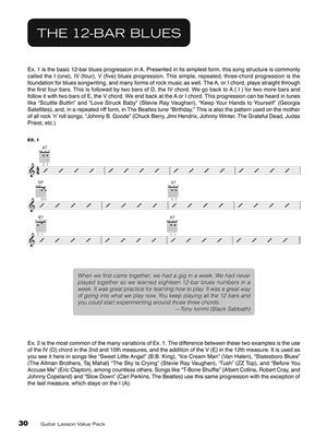 Guitar lesson value pack: Guitar