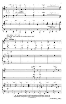 Hal Leonard: Jersey Boys (Medley)