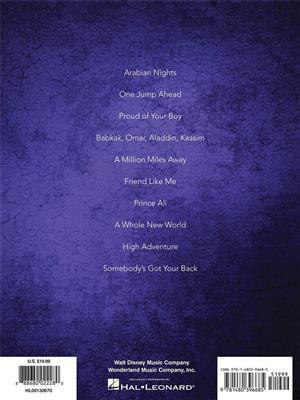 Alan Menken: Aladdin - Broadway Musical: Easy Piano