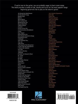 First 50 Rock Songs: Guitar