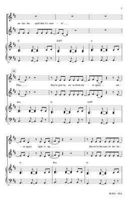 Ellie Goulding: Burn: Mixed Choir