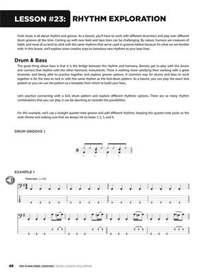 100 Funk/R&B Lessons: Double Bass