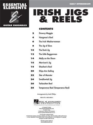Essential Elements Guitar Ens - Irish Jigs & Reels: Guitar Ensemble