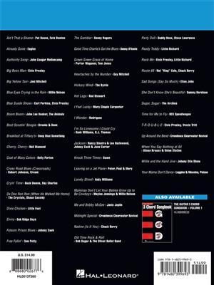The Guitar Three-Chord Songbook - Vol.2: Melody, Lyrics & Chords